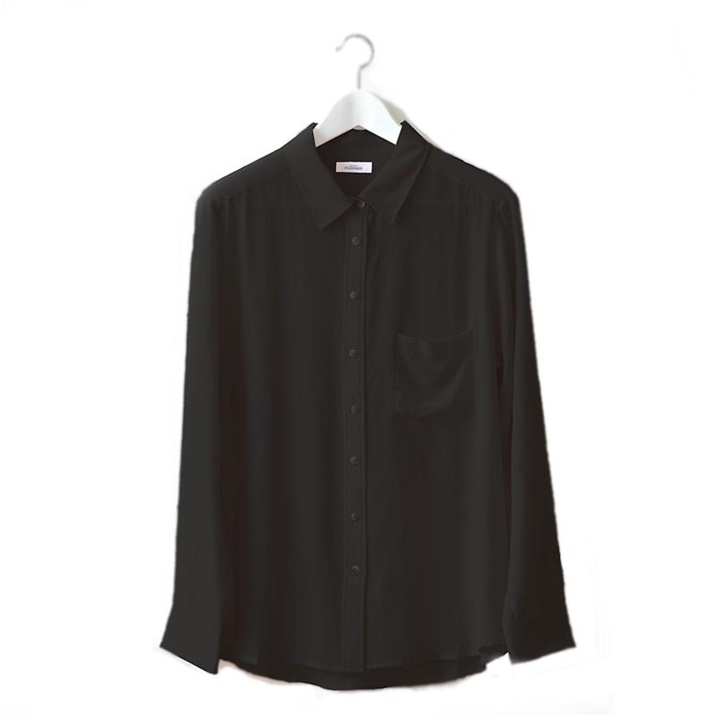 la-chemise-en-soie-noir