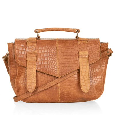 sac cartable en cuir