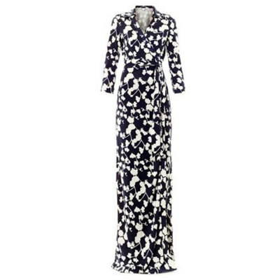 Michelle Obama DVF Abigail wrap dress