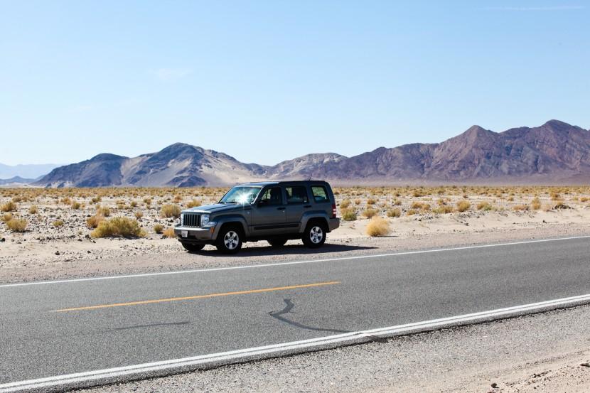 Road trip usa jeep