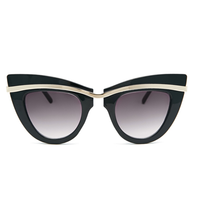 cats eyes sunnies gold