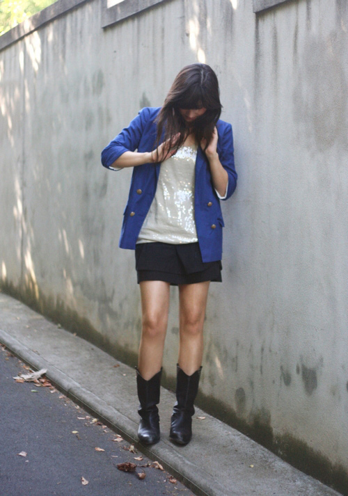 tenue bleue blog de betty