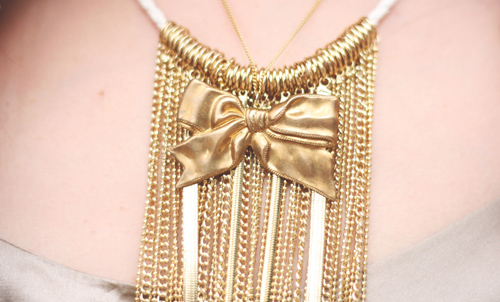 collier noeud etsy chaines topshop