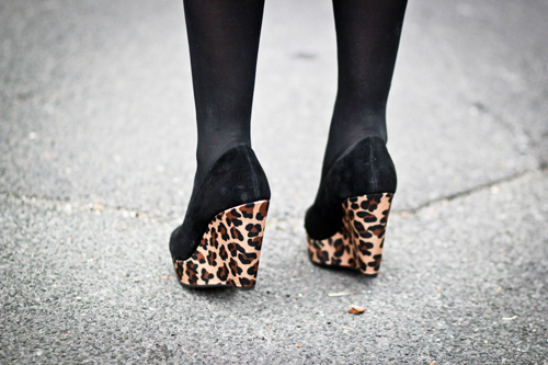 asos leopard shoes